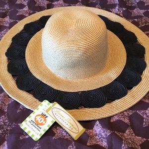 Jeanne Simmons UV Protection 40+ Summer Hat NEW